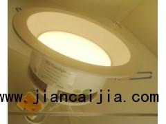LED防眩光筒灯6寸15瓦LED嵌入式照明灯具