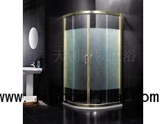 厂家批发供应100%信誉金边铝合金普通淋浴房免加盟费