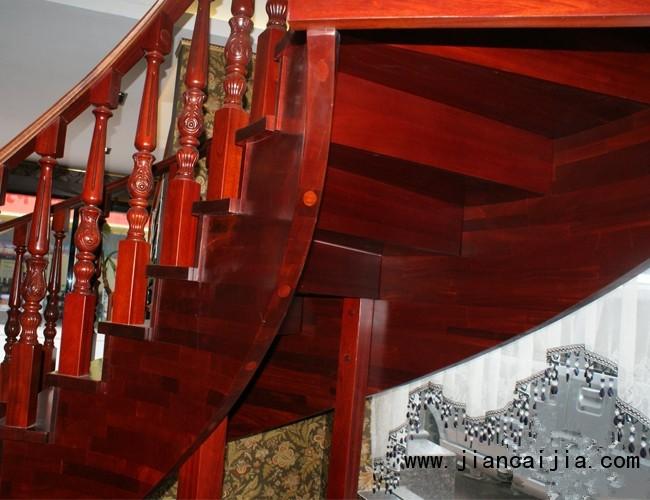 美步楼梯普勒斯 经典欧式大宅弧形梯